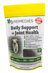 Rx Remedies, Joint Health Dog Treats, 15mg CBD, 5mg CBDA