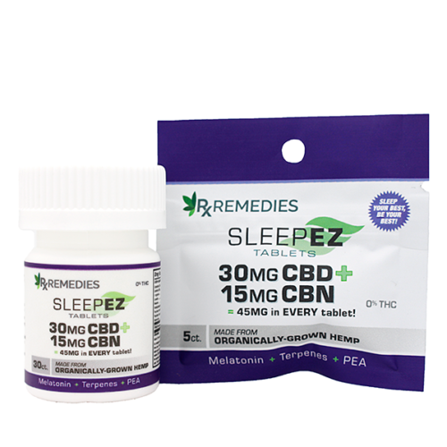 Rx Remedies, SleepEZ Tablets, 45mg/tab, Group