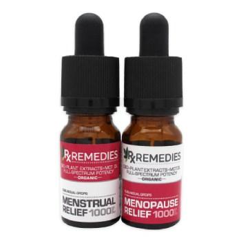 Rx Remedies, menstrual relief, menopause relief