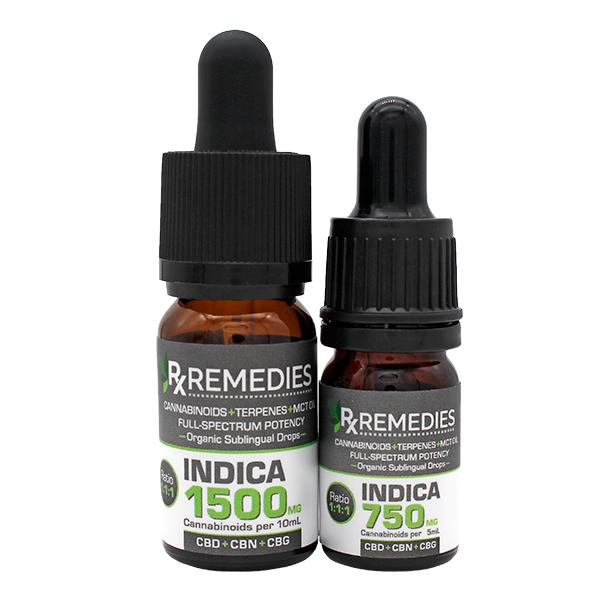 Rx Remedies, MultiCannabinoid, Indica, 150mg/mL, Group