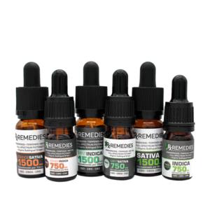 Rx Remedies, MultiCannabinoid, Sativa, Indica, Orange, Mint, 150mg/mL