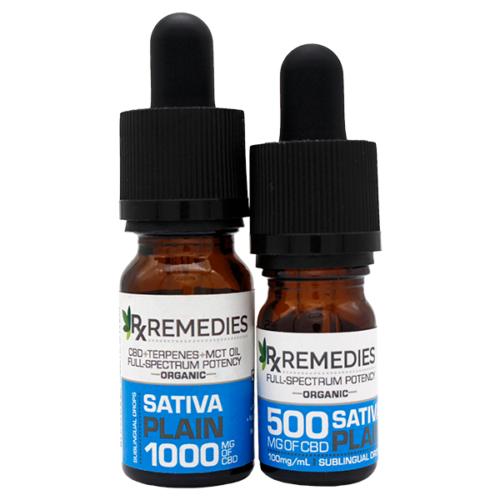 Rx Remedies, Plain, 100mg/mL, Sativa, Group