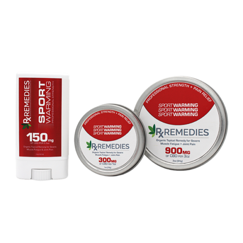 Rx Remedies, Professional Topical, 150mg/oz, Warming